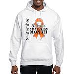 Leukemia Awareness Month v5 Hooded Sweatshirt