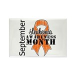 Leukemia Awareness Month v5 Rectangle Magnet (100