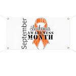 Leukemia Awareness Month v5 Banner