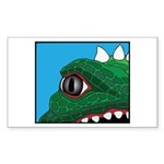 CREATURE VIEW #3 Rectangle Sticker
