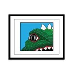 CREATURE VIEW #3 Framed Panel Print