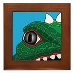 CREATURE VIEW #3 Framed Tile