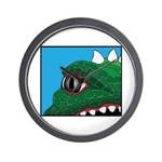 CREATURE VIEW #3 Wall Clock