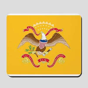 Rough Riders Flag Mousepad