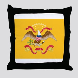 Rough Riders Flag Throw Pillow