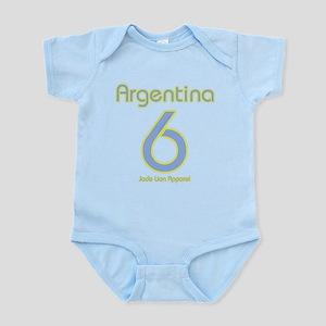 Team Argentina - #6 Infant Bodysuit
