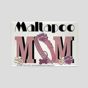 Maltapoo MOM Rectangle Magnet