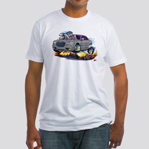 Chrysler 300 Silver/Grey Car Fitted T-Shirt