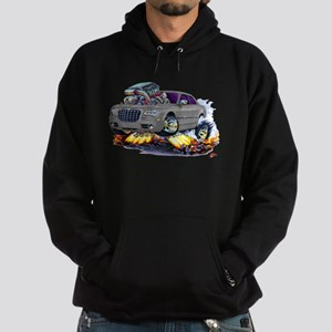 Chrysler 300 Silver/Grey Car Hoodie (dark)