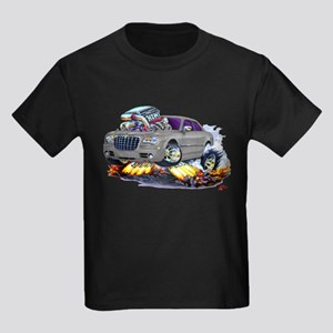 Chrysler 300 Silver/Grey Car Kids Dark T-Shirt