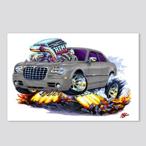Chrysler 300 Silver/Grey Car Postcards (Package of