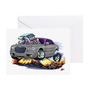 Muscle Car Greeting Cards Cafepress