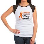 Leukemia Awareness Month v6 Women's Cap Sleeve T-S