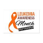 Leukemia Awareness Month v6 Mini Poster Print