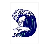 Surf! Postcards (Package of 8)