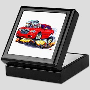 Chrysler 300 Red Car Keepsake Box