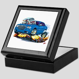 Chrysler 300 Steel Blue Car Keepsake Box