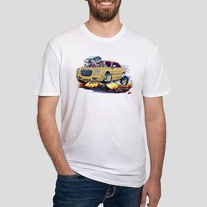 Chrysler 300 Biege Car Fitted T-Shirt