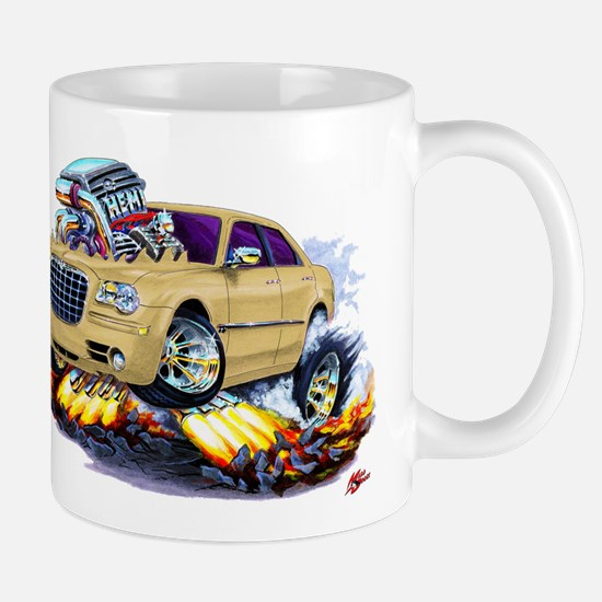 Chrysler 300 Biege Car Mug