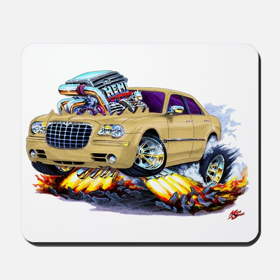 Chrysler 300 Biege Car Mousepad