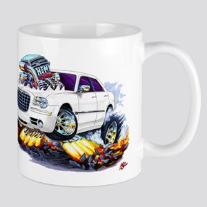Chrysler 300 White Car Mug