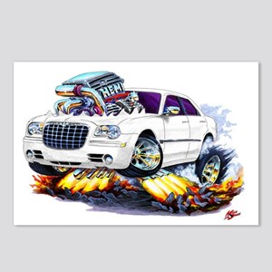 Chrysler 300 White Car Postcards (Package of 8)