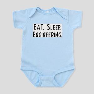 Eat, Sleep, Engineering Infant Creeper