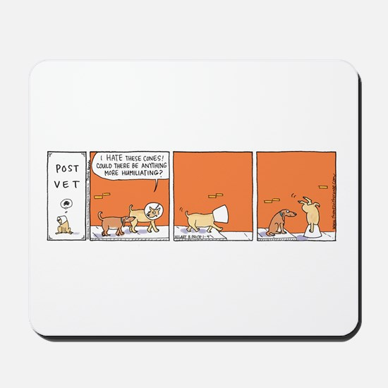 Cute Kingfeatures Mousepad