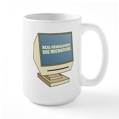Use Microfiche Large Mug