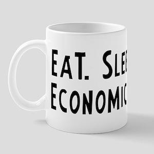 Eat, Sleep, Economics Mug