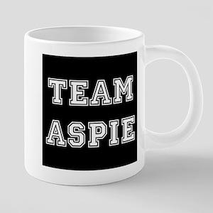 Team Aspie 20 oz Ceramic Mega Mug