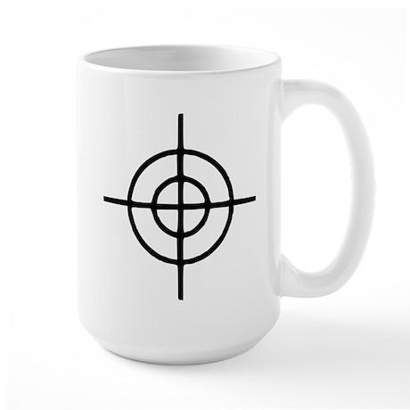 Crosshairs - Gun Large Mug