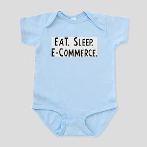 Eat, Sleep, E-Commerce Infant Creeper