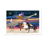 XmsStar/3 Horses (Ar) Mini Poster Print