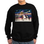 XmsStar/3 Horses (Ar) Sweatshirt (dark)