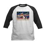 XmsStar/3 Horses (Ar) Kids Baseball Jersey