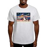 XmsStar/3 Horses (Ar) Light T-Shirt