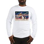 XmsStar/3 Horses (Ar) Long Sleeve T-Shirt