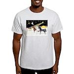 XmsDove/3 Horses (Ar) Light T-Shirt