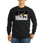 XmsDove/3 Horses (Ar) Long Sleeve Dark T-Shirt