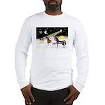 XmsDove/3 Horses (Ar) Long Sleeve T-Shirt