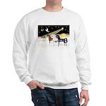 XmsDove/3 Horses (Ar) Sweatshirt