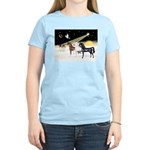 XmsDove/3 Horses (Ar) Women's Light T-Shirt