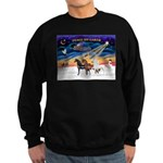 XmsSunrs/3 Horses (Ar) Sweatshirt (dark)