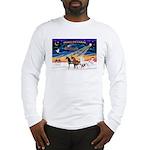 XmsSunrs/3 Horses (Ar) Long Sleeve T-Shirt
