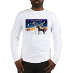 XmsSunrs/2 Horses (Ar) Long Sleeve T-Shirt