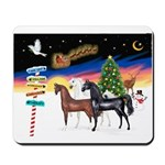XmsSigns/3 Horses (Ar) Mousepad