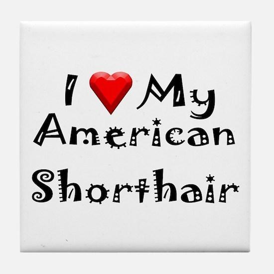American Curl Tile Coaster