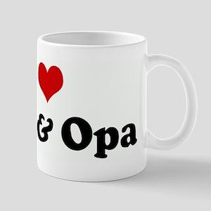 I Love Oma & Opa Mug