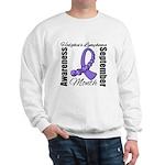 Hodgkin's Lymphoma Month Gem Sweatshirt